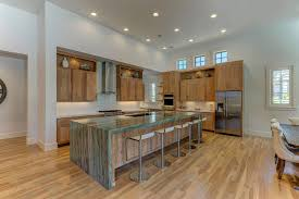 custom home designs bainbridge design group mid century modern kitchen with large island