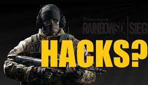rainbow six siege good hacks men glaz gameplay youtube