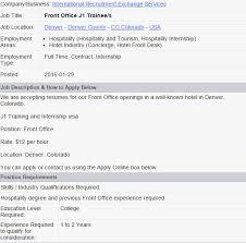 Resume For Casual Jobs by Concierge Job Description Painter Job Description 8 Free Pdf
