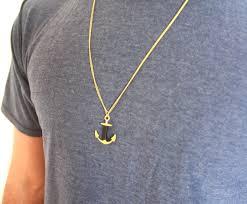 man necklace gift images Men 39 s necklace men 39 s anchor necklace men 39 s gold necklace jpg