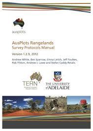 tern terrestrial ecosystem research network ausplots rangelands