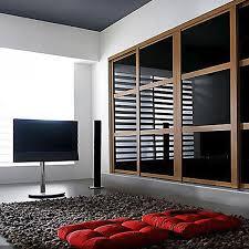 18 Closet Door Aries Closet Door Black And Brown Csd 18 Acrylic And Mdf