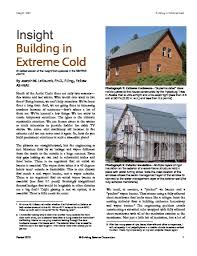 building in extreme cold building science corporation