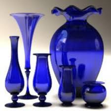 Blue Vases For Wedding Best 25 Blue Glass Vase Ideas On Pinterest Aqua Glass Blue