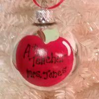 personalized hand painted christmas ornaments for the perfect gift