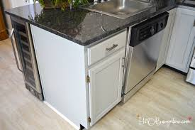 step by step guide how to paint kitchen cabinets h20bungalow