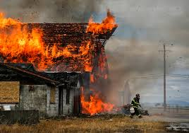 Barn Burning Questions Historic Stanwood Barn Burned Down To Make Way For Park