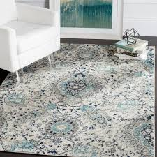Teal Area Rug Charming 7 Gray And Teal Area Rug Exles Home Rugs Ideas