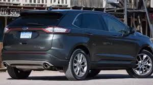 ford jeep 2015 ford edge vs 2015 jeep grand cherokee srt youtube