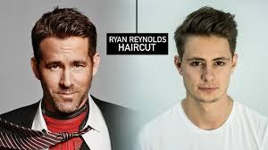 over 55 mens hair cut ryan reynolds haircut hairstyle mens fall hair tutorial