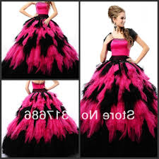 black and pink bridesmaid dress images braidsmaid dress