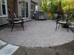Backyard Stone Patio Ideas by Backyard Pavers Ideas Home Design Ideas
