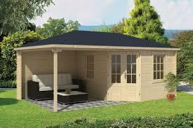 christoffer log cabin with side porch
