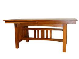 loon peak taj solid oak mission dining table wayfair