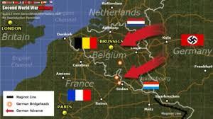 Map Of France And Germany by 2 Svetovna Vojna Zahodna Evropa Vojna In Tehnologija Youtube