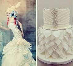 wedding dress inspired cake via bakin u0027 bits wedding dress