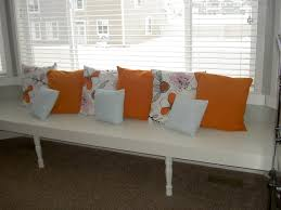 interior living room lovely low bay window seat with three cute