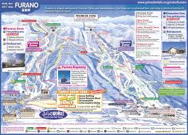 New Mexico Ski Resorts Map by Furano Piste Map Trail Map