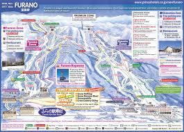 Snow Forecast Map Furano Ski Resort Guide Location Map U0026 Furano Ski Holiday