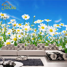 Daisy Room Decor Compare Prices On 3d Wallpaper Daisy Online Shopping Buy Low