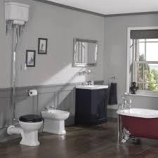 bathroom silverdale empire art deco high level toilet d2 art