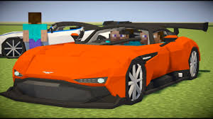 custom aston martin vulcan minecraft mod spotlight aston martin vulcan youtube