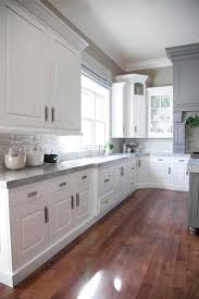 best grey color wall color for kitchen with white cabinets gallery including best