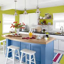 Turquoise Kitchen Island by 55 Great Ideas For Kitchen Islands The Popular Home