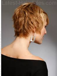 front and back views of chopped hair pixie haircut back view 20 really cute short haircuts you have