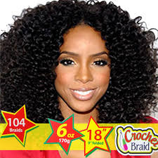 short curly crochet hairstyles synthetic kinky curly hair extensions 18inch crochet braids
