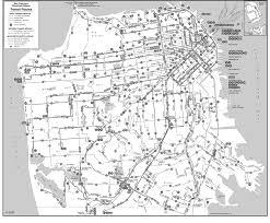 San Francisco Bus Map by San Francisco Maps