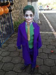 Batman Kids Halloween Costume Deluxe Child Joker Costume
