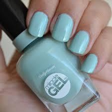 sally hansen miracle gel nail polish in b review aquaheart