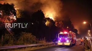 Wildfire Dc by Chile Wildfire Continues To Ravage Portezuelo Youtube