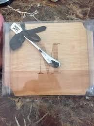mud pie cutting board brand new mud pie cutting board 38 spreader w monogrammed