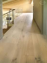 Bleached Oak Laminate Flooring Solid Parquet Flooring Glued Floating Nailed Contorta