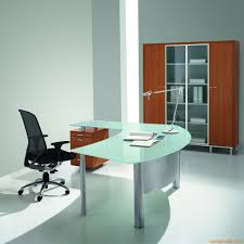 Office Desk With Glass Top Furniture Office Stupefying Glass Top Office Desk Modern Modern