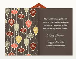 greeting card samples corporate christmas season u0027s greetings