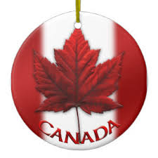 flag of canada ornaments keepsake ornaments zazzle