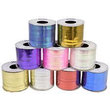 spools of ribbon bulk voila metallic or iridescent curling ribbon 100 ft spools