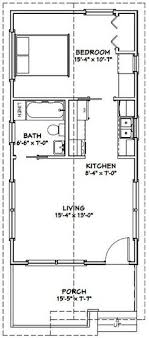 floor plan of house 18x40 tiny house 18x40h2k 720 sq ft excellent floor plans