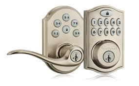 Keypad Interior Door Lock Front Door Keypads Schlage Vs Kwikset One Project Closer Regarding