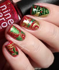 digit al dozen december christmas nails sassy shelly