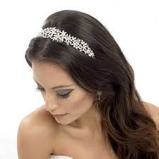 wedding hair bands floral wedding headband serena zaphira bridal