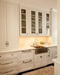 white kitchen with copper amazing copper kitchen cabinet hardware