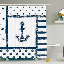 Nautical Anchor Shower Curtain Best Nautical Anchor Decor Beachfront Decor