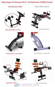 latest new x bike power ver gym ab six pack care total body