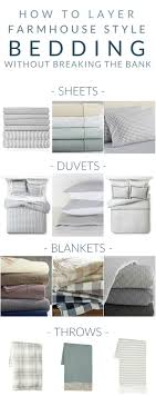 how to layer a bed farmhouse bedding my favorite pieces for layering that won t