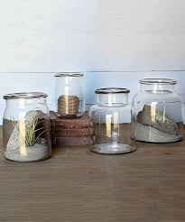 Glass Bathroom Storage Jars Glass Jars For Bathroom Storage Thedancingparent