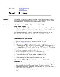 Inside Sales Resume Example by Roofing Resume Examples Free Resume Example And Writing Download